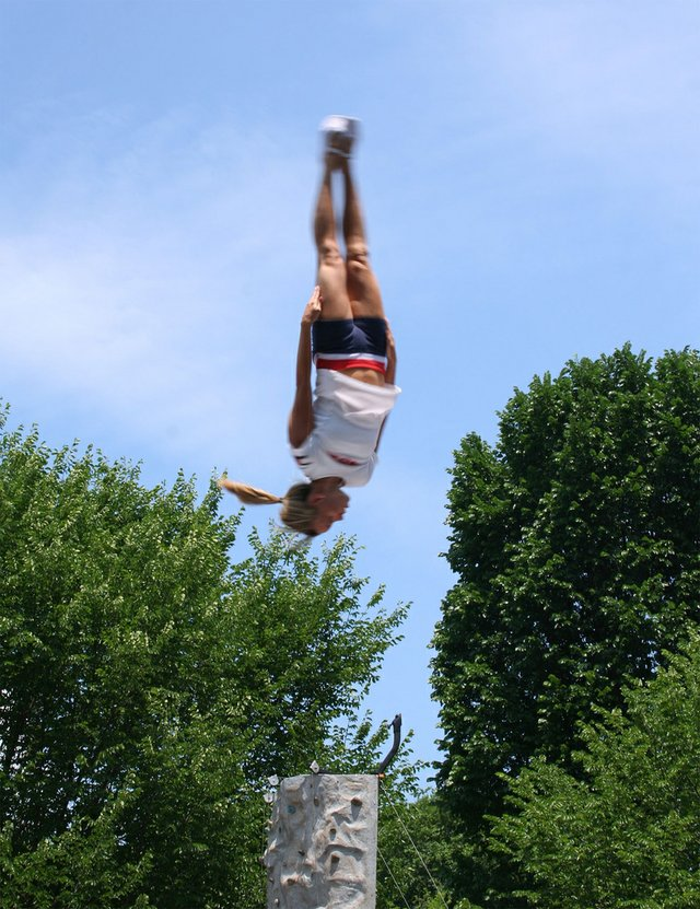 Summer Acrobat