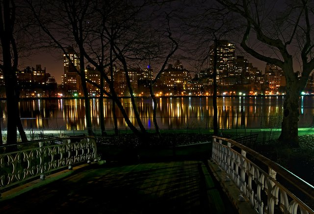 Reservoir Bridge at Night