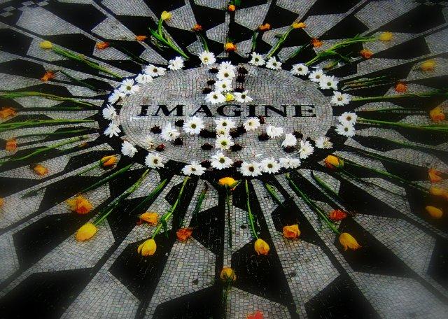 Imagine peace forever ...