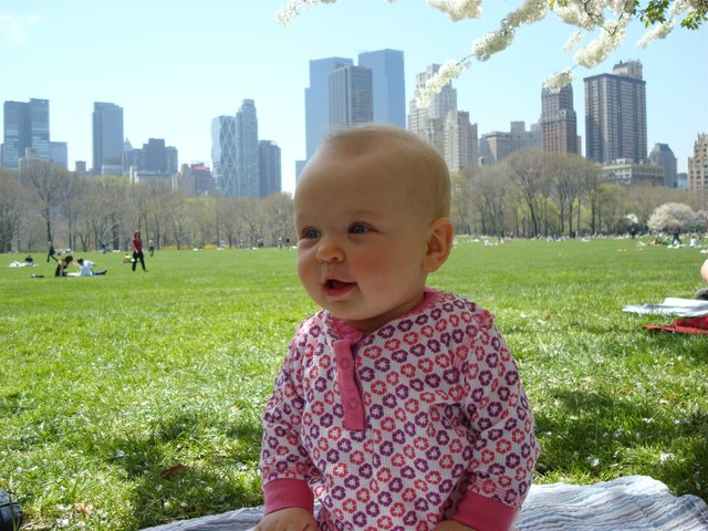 First visit to Sheep Meadow