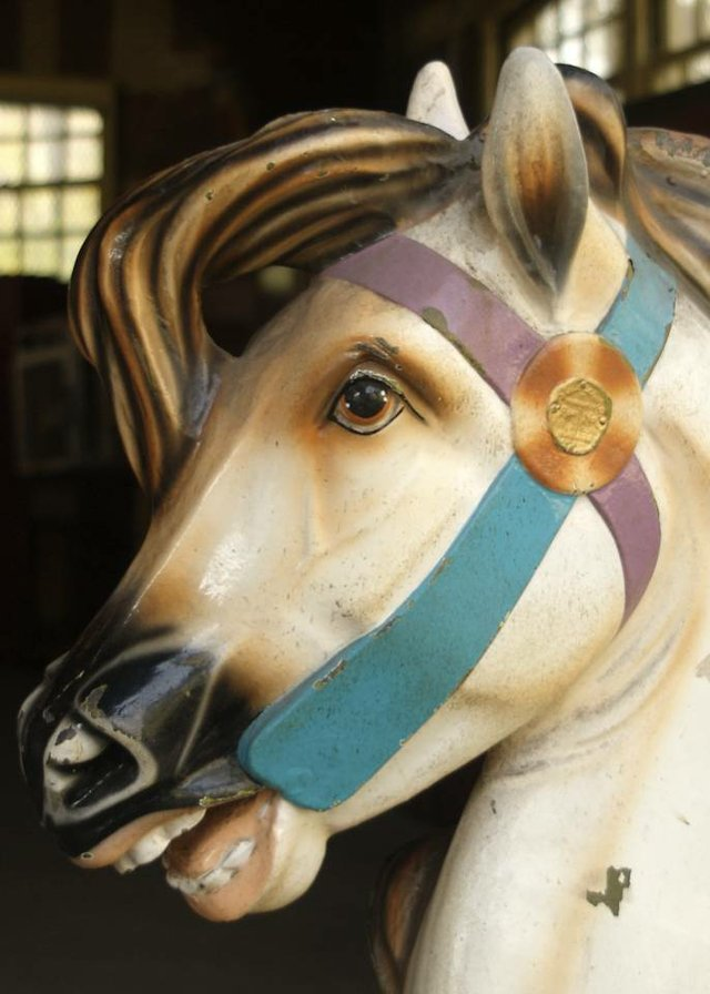 Old Time Carousel Horse