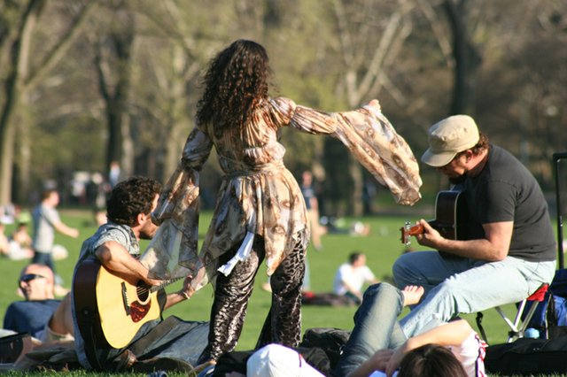 Central Park Jamming