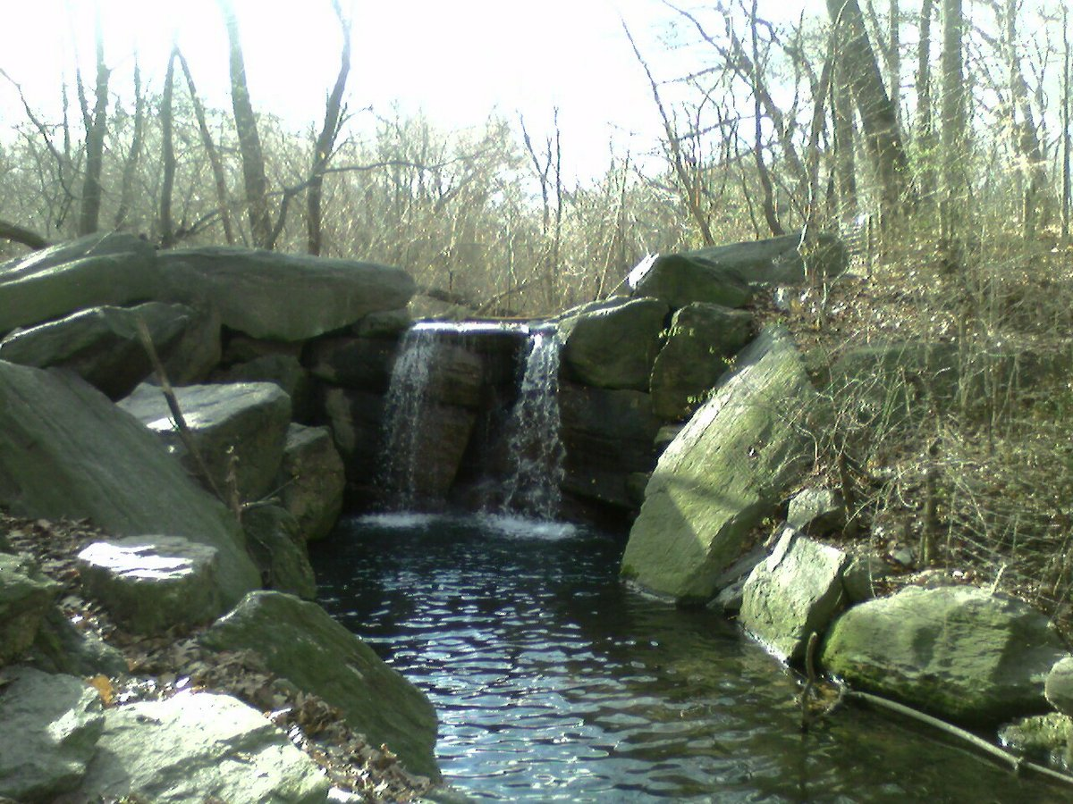 Waterfalls in Central Park