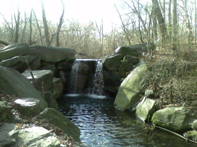 Waterfall in the Loch