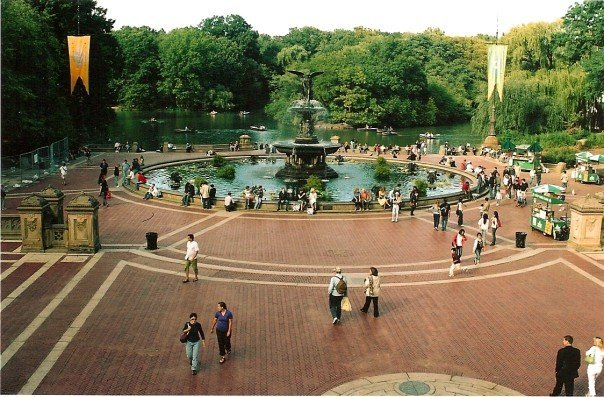 Bethesda Fountain, September 2007