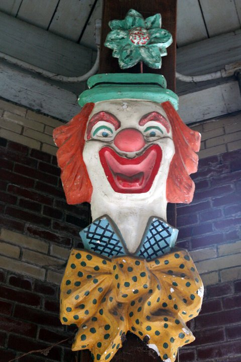 Central Park Carousel Clown
