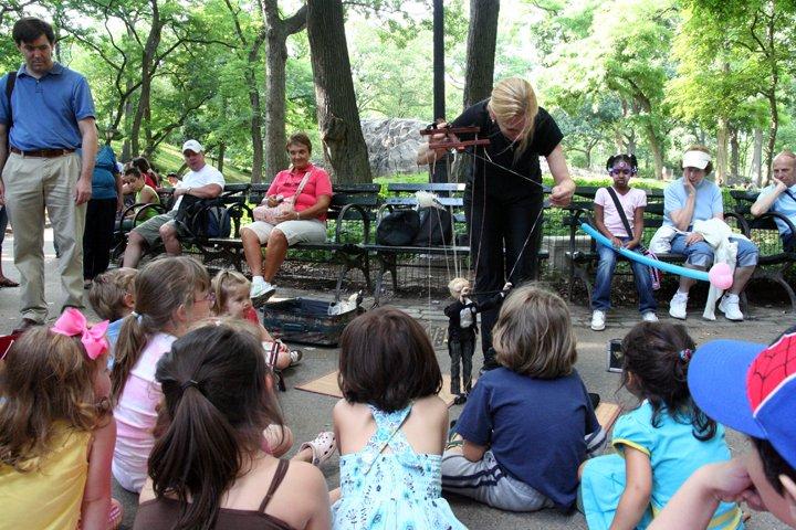 Central Park Puppet Show 3