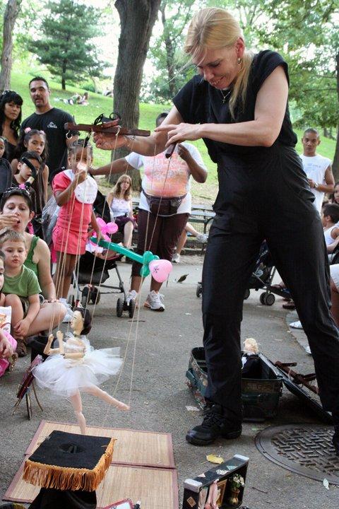 Central Park Puppet Show 1