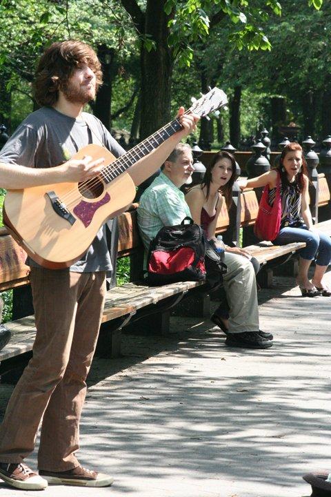 Central Park Performer