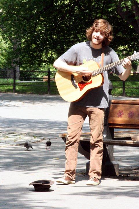 Central Park Performer 2