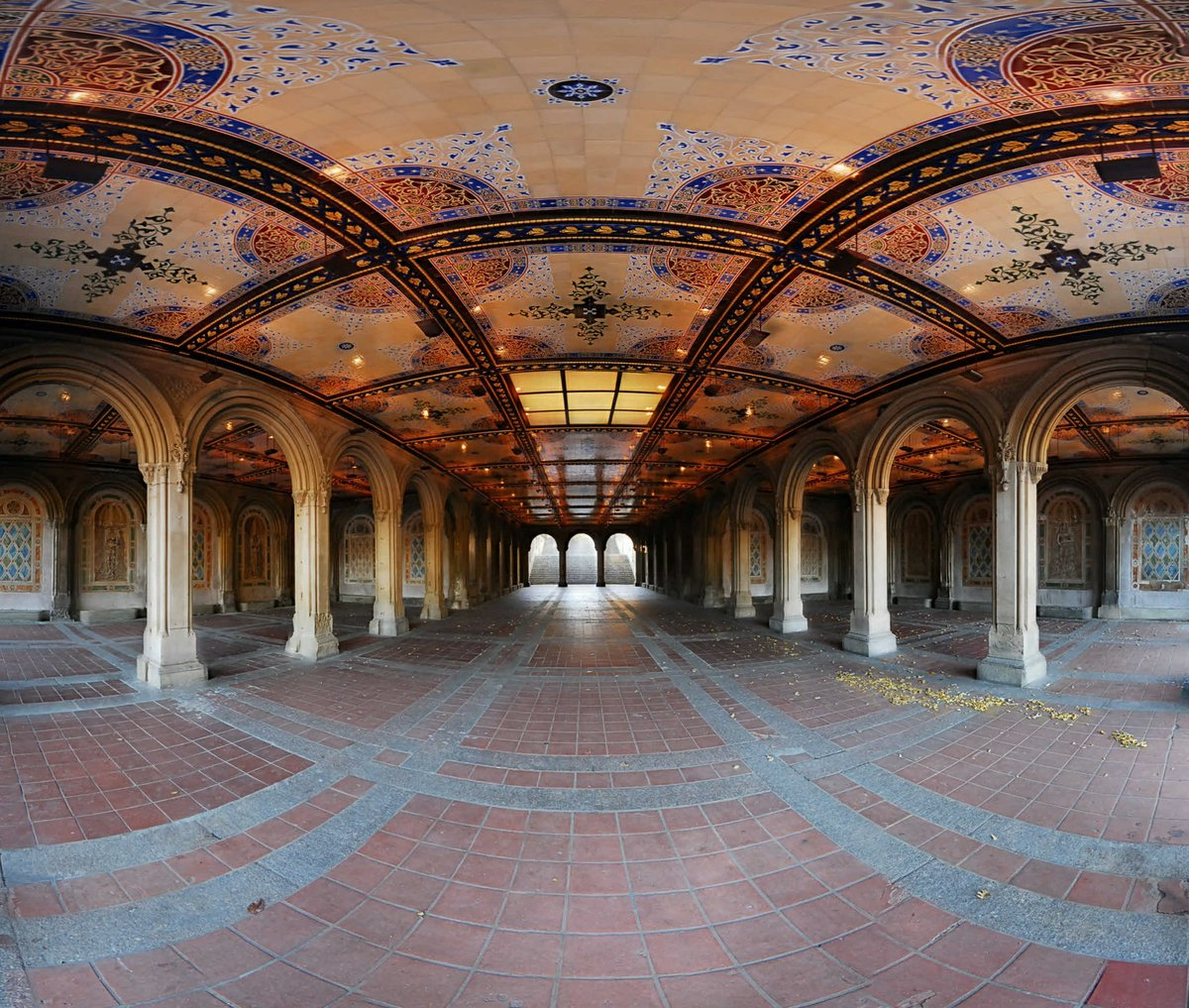 Central Park New York Condos: Photo Entry: Bethesda Terrace Underpass