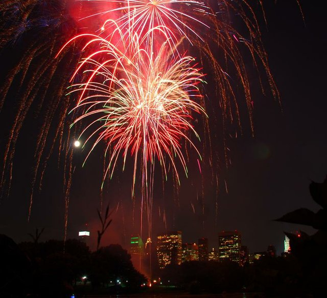 Denver Shooting New Year S Eve 2017: New Year's Eve Fireworks In Central Park
