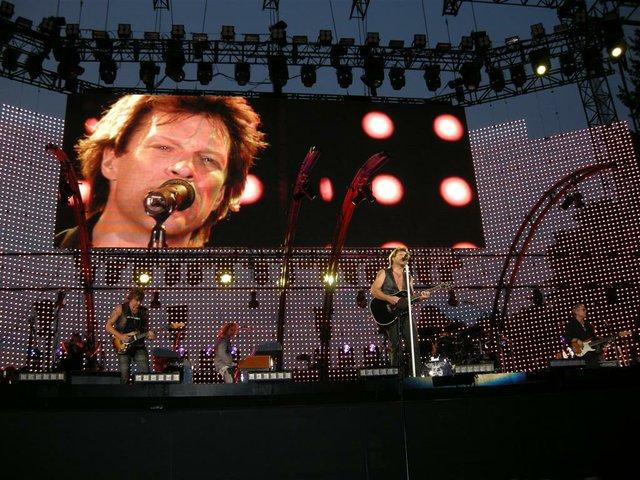 Bon Jovi  Concert in Central Park 2