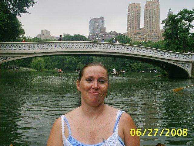 my wife  row boating