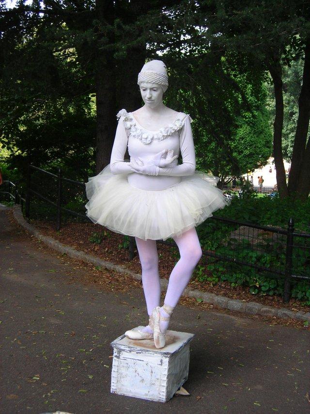 Ballarina in the park