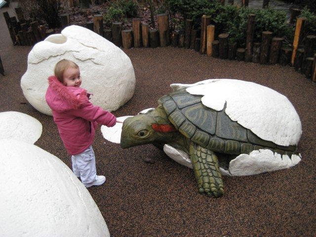 """It's bigger than me, nana, and it's friendly"""