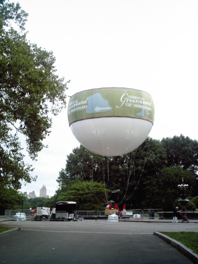 Ballooning in the Park