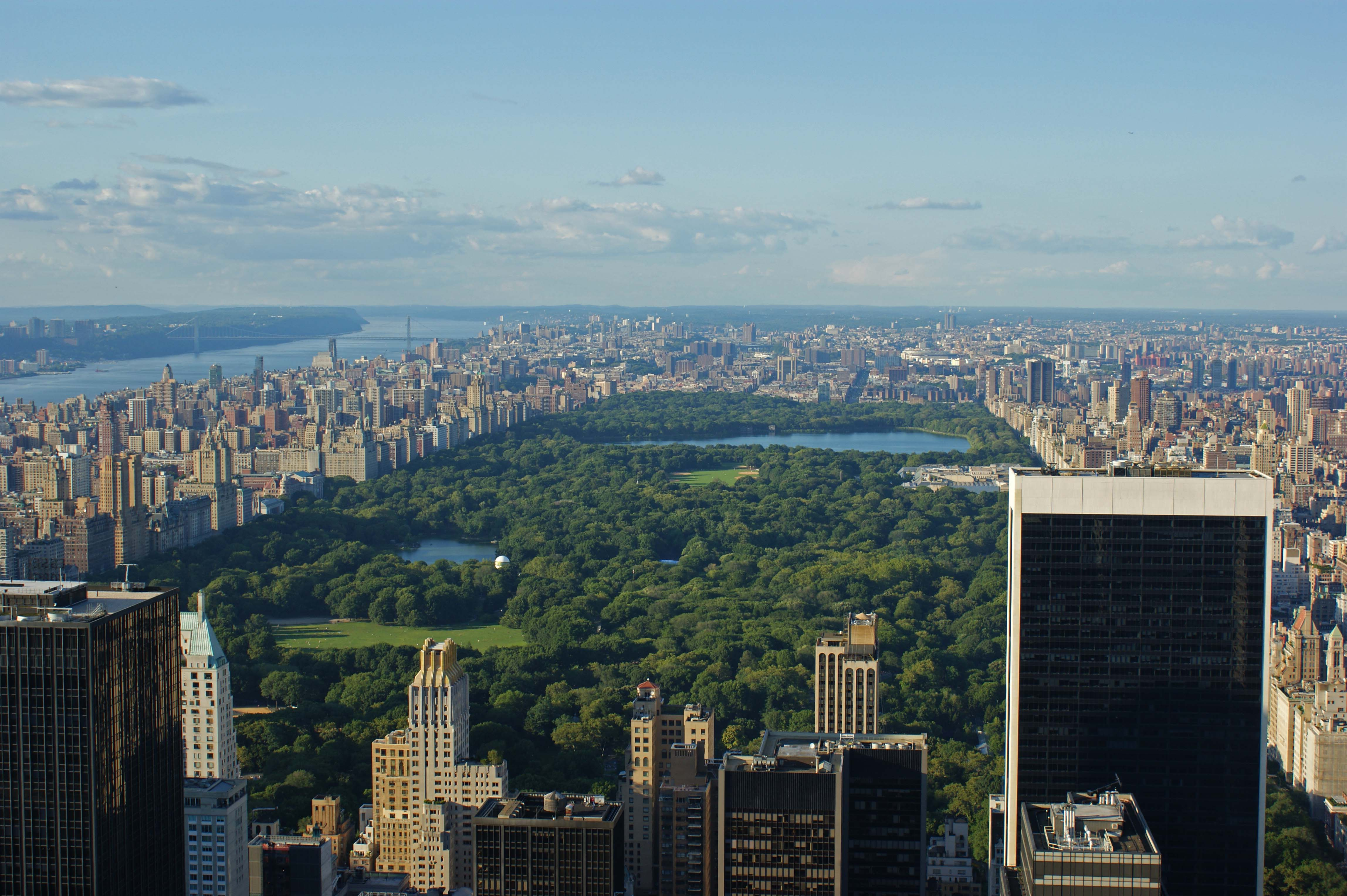 Photo Entry Central Park From Above