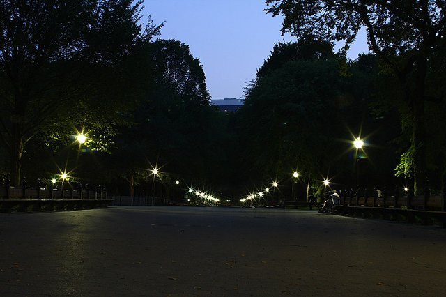 The Mall at Dusk