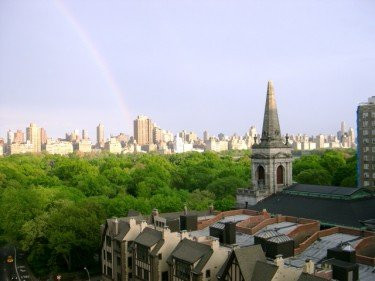 Rainbow over Central Park