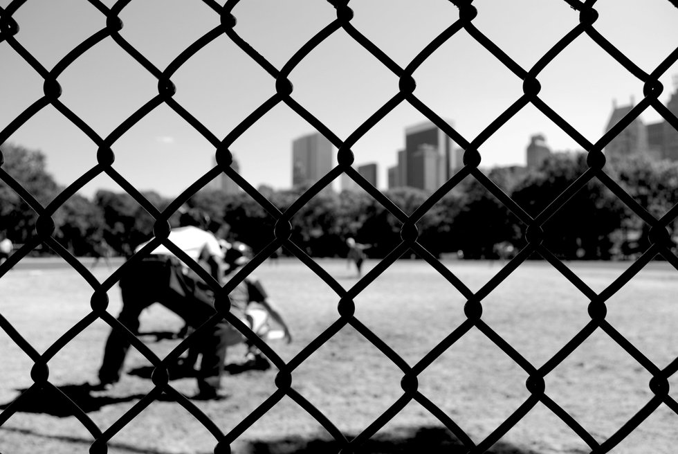 Baseball through the wire