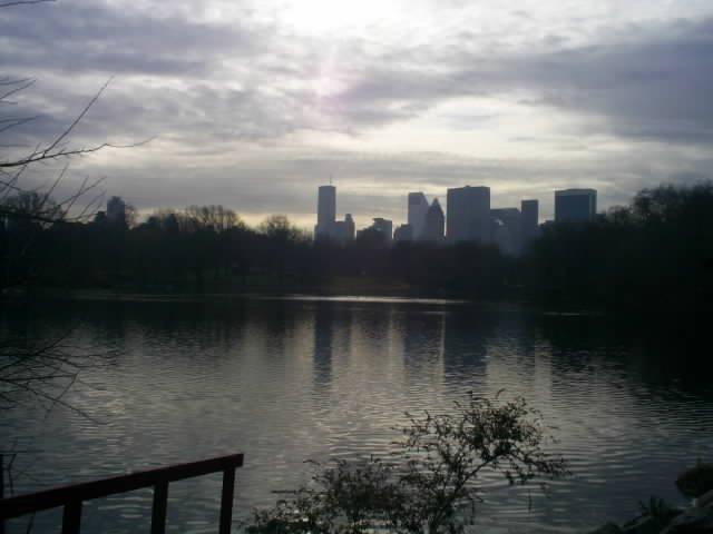 View over lake