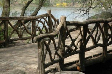 Wood Bridge in Ramble