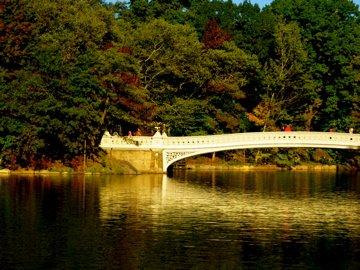 Bow Bridge at Sunset