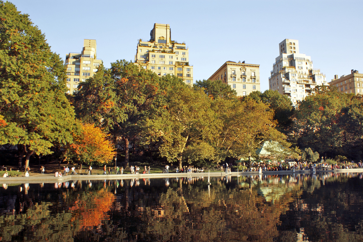 Conservatory Water in Central Park