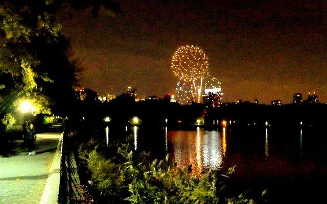 Marathon Eve Fireworks