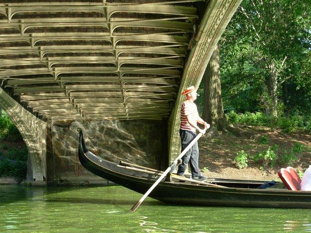 Gondolas in a city?
