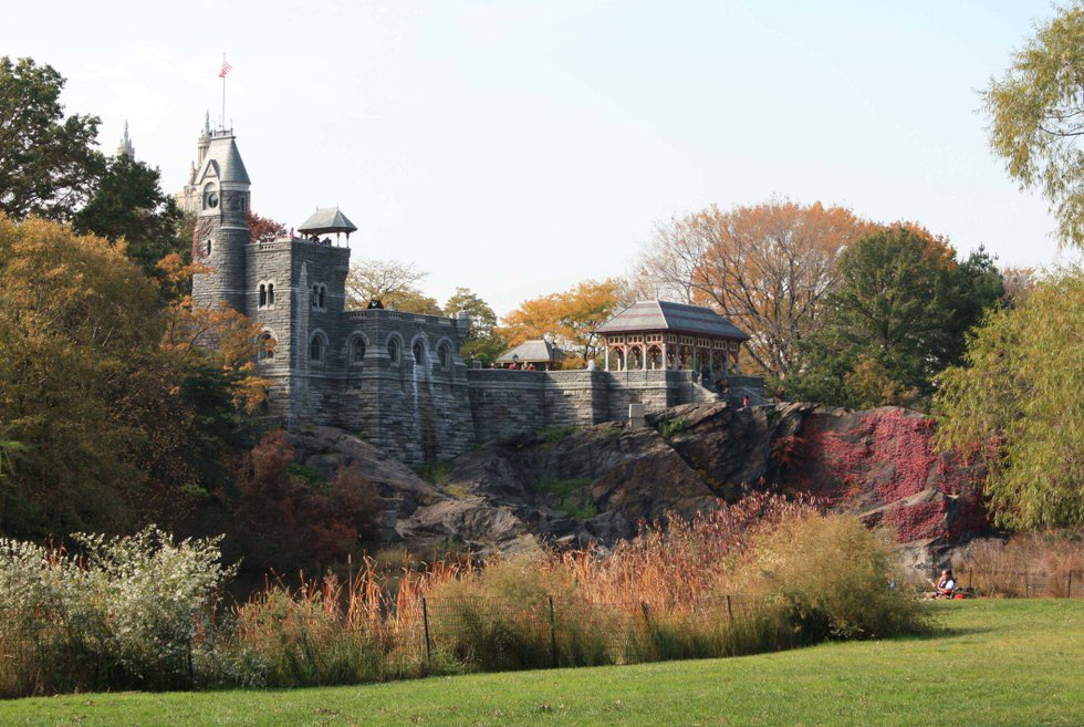 belvedere castle in central park - Castle