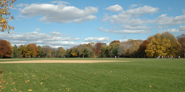 Great Lawn, Late Autumn