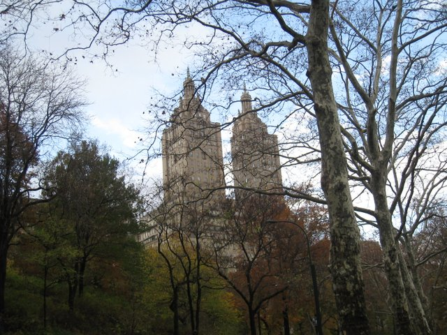 Ghost Buster's buildings from Central Park