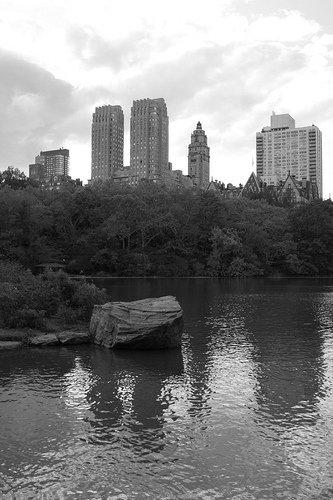 Central Park Near Reservoir