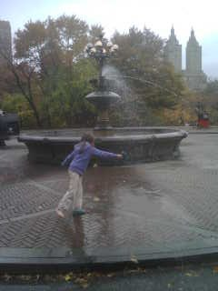 Central Park ritual