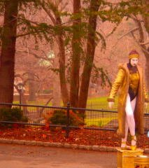 Central Park and Mime