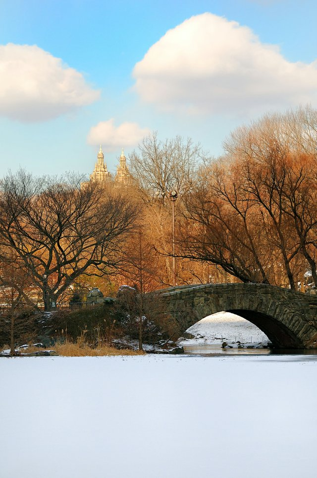 Wintery Gapstow Bridge