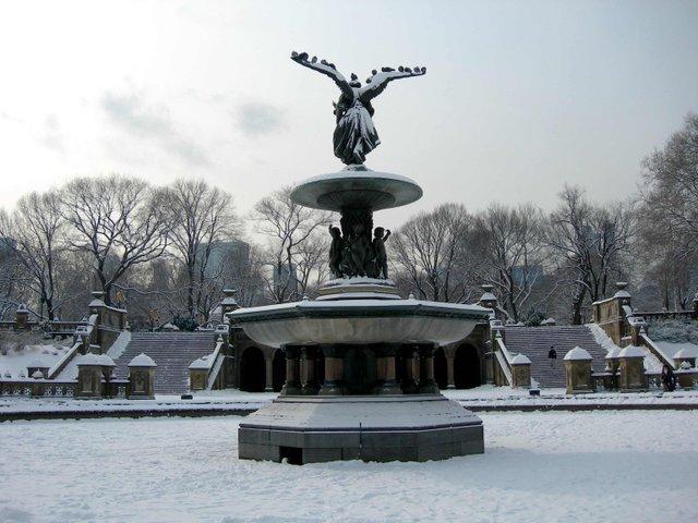 Frozen Terrace