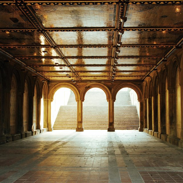 Arcade beneath Bethesda Terrace