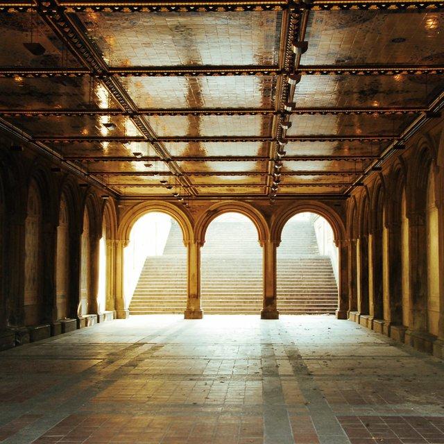Arcade beneath Bethesda Terrace