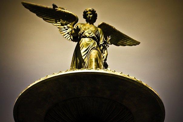 A golden angel