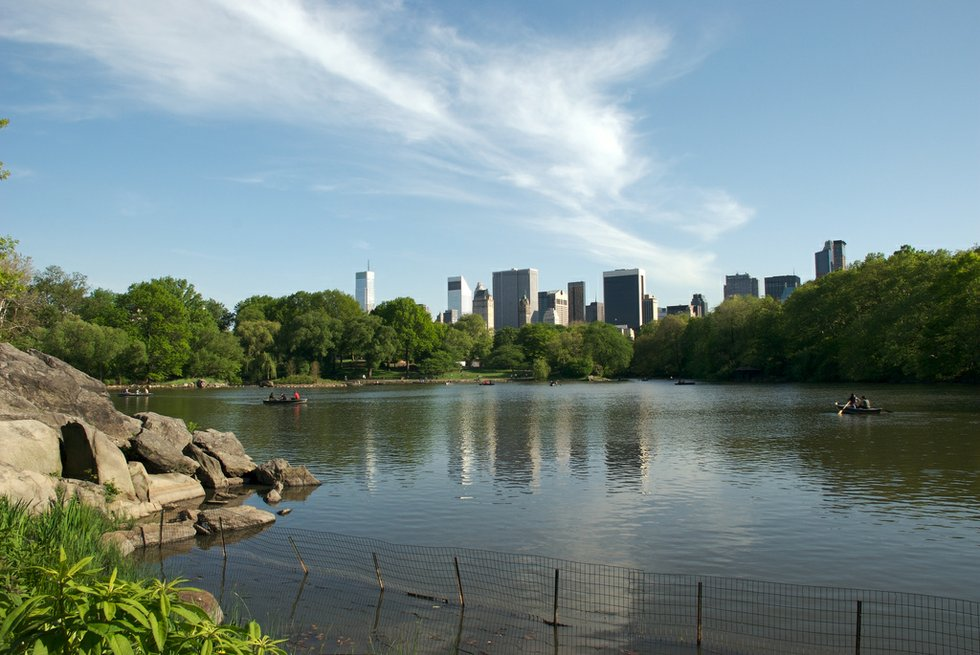 Central Park Boating Lake