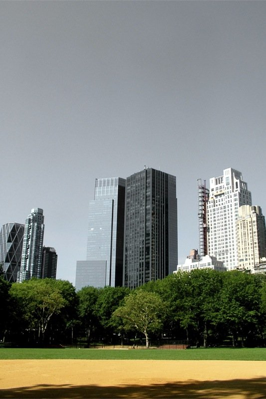 Buildings as seen from Ballpark