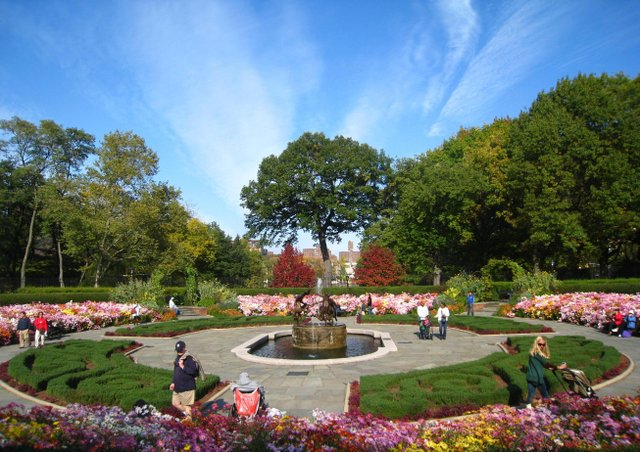 The Summer Conservatory Garden