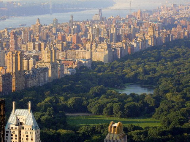 central park arial view