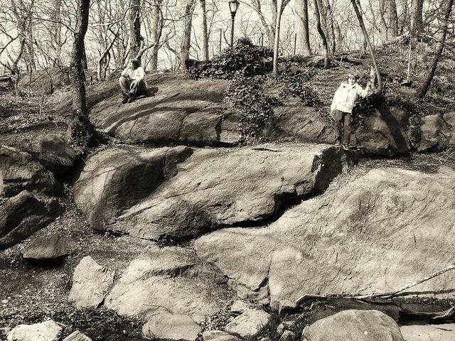 Boys on the Rocks
