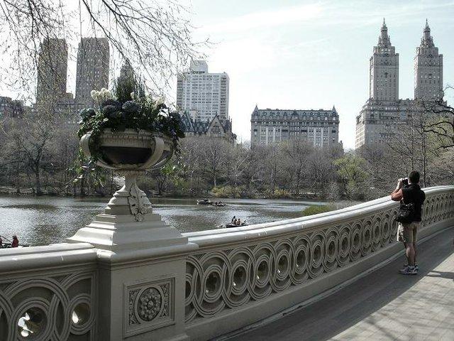 Photographer on Bow Bridge