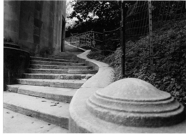 curvy steps