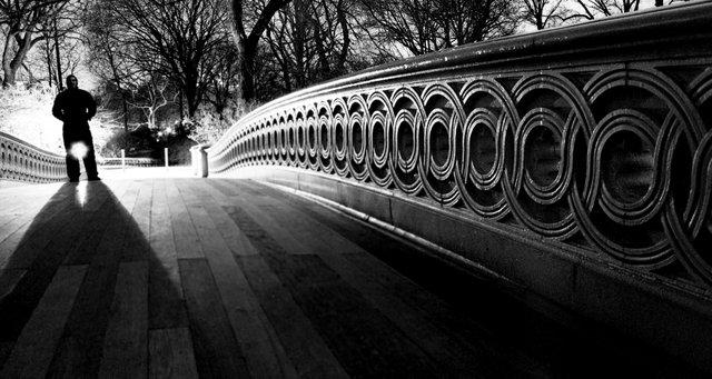 Midnight, Central Park